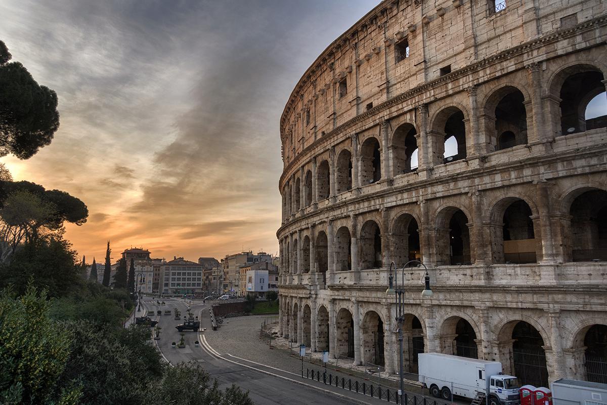Roma la prima vedere